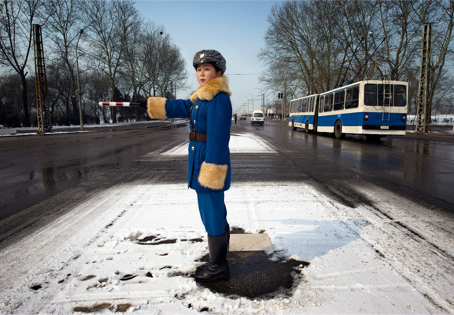 1_DPRK_Pyongyang_Traffic_Officer