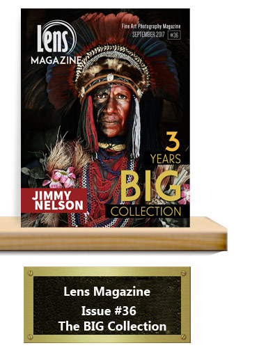 Issue 36 Lens Magazine for Fine Art Photography.