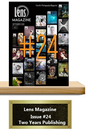 Lens Magazine Issue 24 Celebration of two years publishing