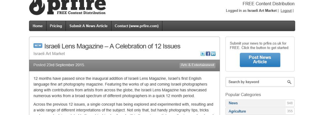 Israeli Lens On Prfire Co Uk Photography Magazine By Lens Magazine