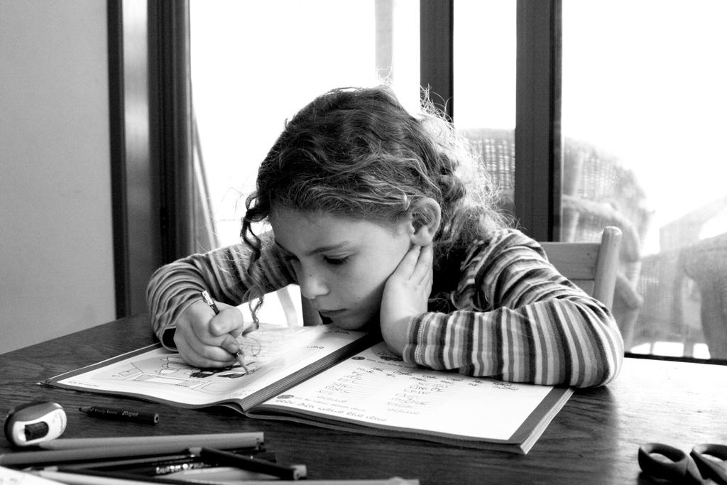 Ruth_doing_homework_2010