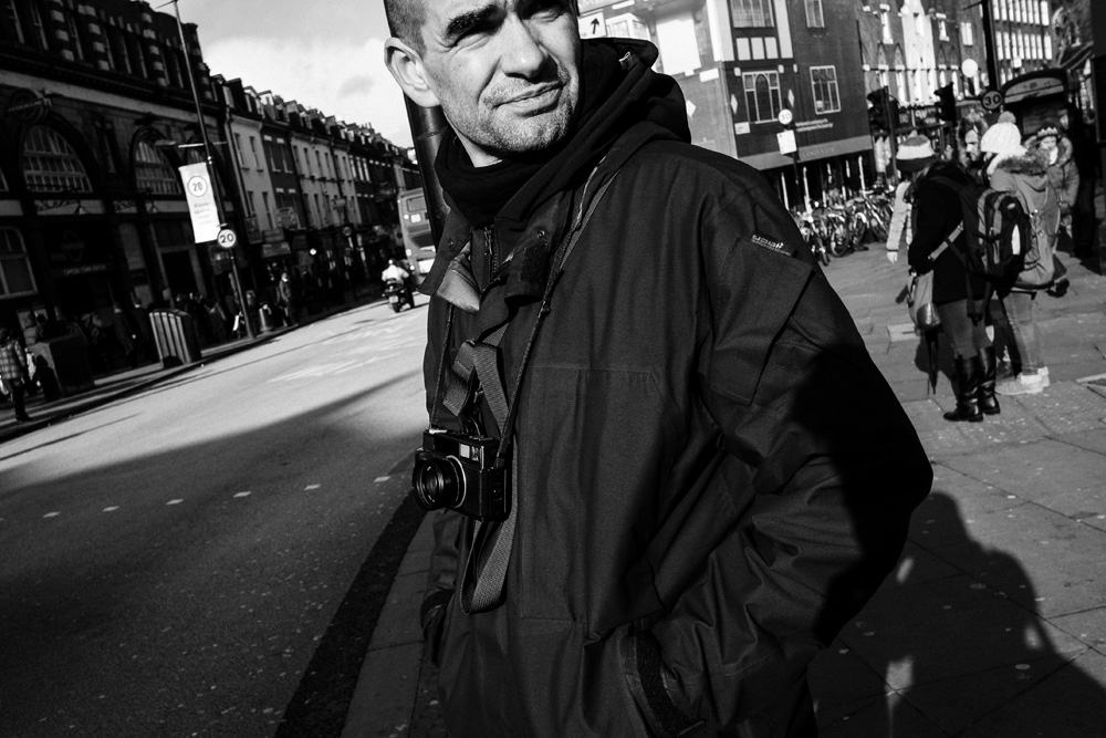 Street photographer boogie photographed in london 10th february 2014 photo by greg funnell