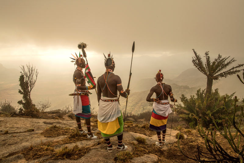 The Guardian Warriors of Northern Kenya Copyrights to Ami Vitale © All Rights Reserved.