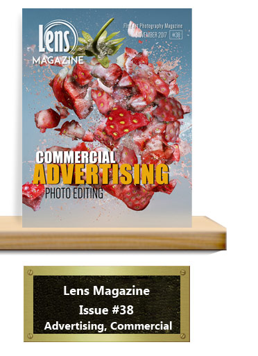 Lens Magazine Issue 38 Advertising, Commercial and photo editing