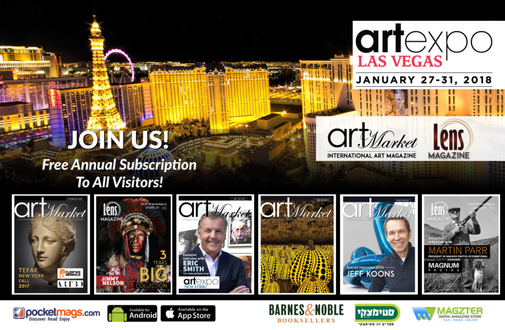 Lens Magazine At ArtExpo Las Vegas